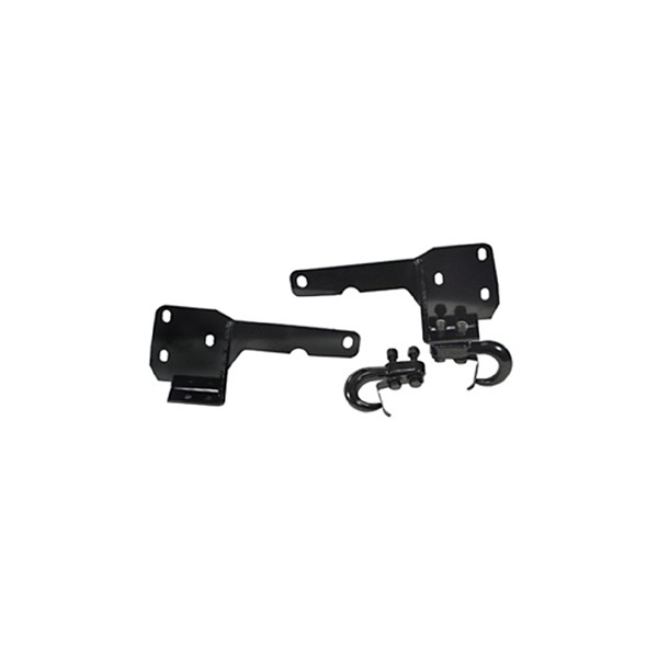 Tow Hooks and Frame Brackets; 84-01 Jeep Cherokee XJ