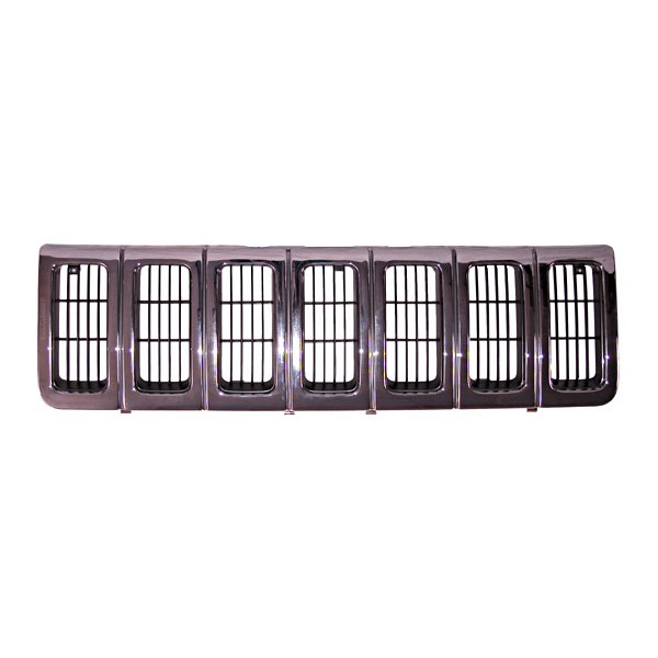 Chrome Grille Insert; 96-98 Jeep Grand Cherokee ZJ - Grille - Body ...