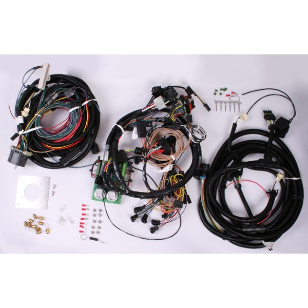 centech heavy duty wiring harness 76 86 jeep cj models rh autoquestjeeps com jeep cj painless wiring harness jeep cj7 wiring harness diagram
