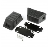 XHD Bumper Tow Point Cover, 07-15 Jeep Wrangler