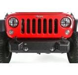 XHD Front Bumper Base, Tow Point Covers, 07-15 Jeep Wrangler