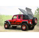 Powertop Kit 07-12 Jeep JK Wrangler Unlimited Black