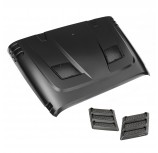 Performance Vented Hood Kit; 07-15 Jeep Wrangler JK