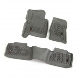Floor Liner Set, Gray, 14-15 GM Crew Cab Pickup