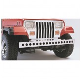 Stainless Steel Front Bumper; 87-95 Jeep Wrangler YJ