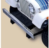 Stainless Steel Front Bumper Without Holes; 55-86 Jeep CJ Models