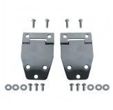 Hardtop Liftgate Hinge Kit, Stainless Steel; 76-86 Jeep CJ Models