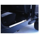 Door Entry Guards, Stainless Steel; 97-06 Jeep Wrangler TJ