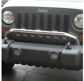 Bumper Mounted Light Bar, SS, 07-18 JK