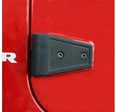 Door Hinge Cover Kit, Textured Blk, 07-18 Wrangler