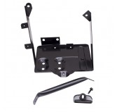 Battery Tray Kit; 76-86 Jeep CJ Models
