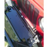 Winch Mounting Plate; 87-06 Jeep Wrangler