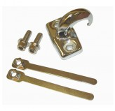 Tow Hook Rear Chrome Jeep TJ 97-06 Unlimited LJ 04-06 Sold Each