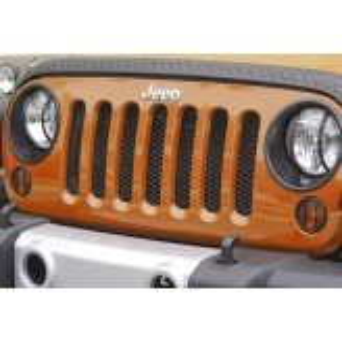 Mesh Grille Insert Black 07-12 Jeep JK Wrangler