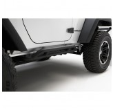 RRC Rocker Guards, Black, 07-18 2-Door Wrangler