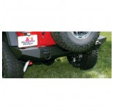 Xhd Rear Bumper Textured Black 07-12 Jeep JK Wrangler
