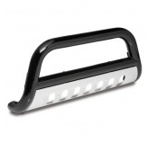 3-Inch Bull Bar Black 07-09 Jeep JK Wrangler