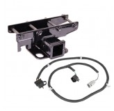 Receiver Hitch Kit with Wiring Harness; 07-17 Jeep Wrangler JK