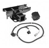 Receiver Hitch Kit, Jeep Logo, 07-18 Wrangler