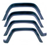 4 Piece Fender Flare Kit; 84-96 Jeep Cherokee XJ