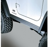 Rocker Side Panels, Body Armor; 97-06 Jeep Wrangler TJ