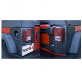 Corner Guards, Body Armor, 4 Door; 07-17 Jeep Wrangler JK