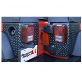 Corner Guards, Body Armor, 2 Door; 07-17 Jeep Wrangler JK