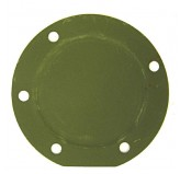 Master Cylinder Cover Plate; 41-45 Willys MB