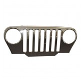 Chrome Grille Overlay 97-06 Jeep TJ And LJ Wrangler