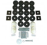 Body Tub Mounting Kit; 41-75 Willys/Jeep