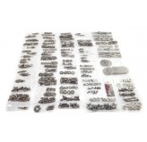 Body Fastener Kit, Hard Top; 76-86 Jeep CJ7