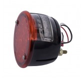 LED Tail Light Assembly, Left Side; 46-75 Willys/Jeep CJ Models