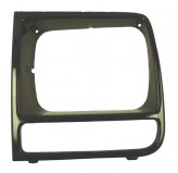 LH Neutral Headlight Bezel; 97-01 Jeep Cherokee XJ