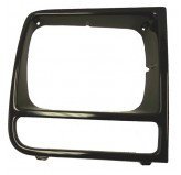 RH Neutral Headlight Bezel; 97-01 Jeep Cherokee XJ