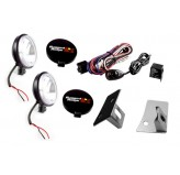 Windshield Light Mount Kit, 07-18 Wrangler JK