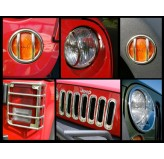 Euro Guard Light Kit, 07-18 Jeep Wrangler