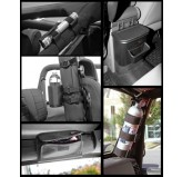 Interior Storage Kit, Black; 07-10 Jeep Wrangler JK