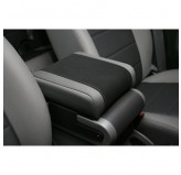 Neoprene Arm Rest Cover, Black with Gray; 07-10 Jeep Wrangler JK