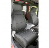 Neoprene Front Seat Covers Black 07-10 Jeep JK Wrangler