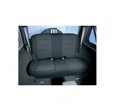 Neoprene Rear Seat Covers, Black; 97-02 Jeep Wrangler TJ