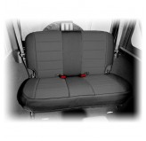 Neoprene Rear Seat Cover, Black; 07-17 Jeep Wrangler JK