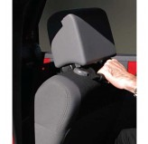 Front Headrest Grab Handles, Black, 07-18 Wrangler