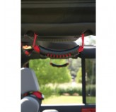 Rear Side Grab Handles Red 07-18 Wrangler Unl JK