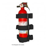 Sport Bar Fire Extinguisher Holder Blk 55-18 CJ&Wr