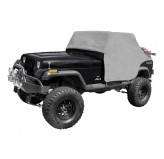 Cab Cover, Gray; 87-91 Jeep Wrangler YJ