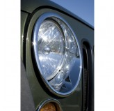 Headlight Bezels, Chrome, 07-18 Jeep Wrangler JK