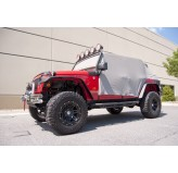 Cab Cover, Gray, 07-18 Jeep 4-Door Wrangler JK