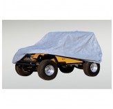 Weather Lite Full Jeep Cover; 76-95 Jeep CJ/Wrangler YJ