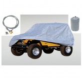 Full Car Cover Kit; 81-86 CJ-8, 04-18 LJ, JK Unl