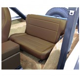 Fold and Tumble Rear Seat, Spice; 76-95 Jeep CJ/Wrangler YJ